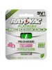 Rayovac PL1604-1 - Rechargeable NiMH Battery - 9V Size - 9 Volt - Platinum Series